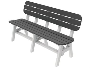 Seaside Casual Portsmouth Recycled Plastic 5 ft. Bench SSC058