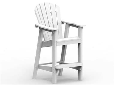 Seaside Casual Shellback Adirondack Recycled Plastic Bar Chair SSC060