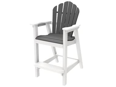 Seaside Casual Classic Adirondack Recycled Plastic Bar Chair SSC061