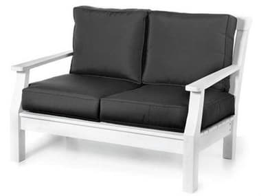 Seaside Casual Nantucket Recycled Plastic Cushion Loveseat SSC089