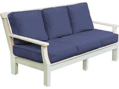 Seaside Casual Nantucket Recycled Plastic Cushion Sofa SSC090