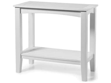 Seaside Casual Complementary Pieces Recycled Plastic Windsor Small 36''W x 19''D Rectangular Buffet Table SSC195