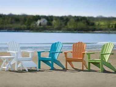 Seaside Casual Coastline Recycled Plastic Harbor View Lounge Set SSC302SET1