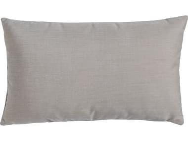 Seaside Casual  11'' x 26'' Long Lumbar Pillow with Flange SSCSEA877