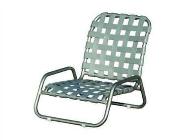 Suncoast Sanibel Cross Strap Cast Aluminum Sand Lounge Chair SU127