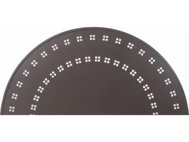 Suncoast Patterned Square Aluminum 42''W x 22''D Rectangular Coffee Table SU2242PA