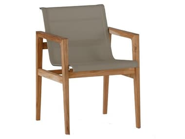 Summer Classics Coast Teak Dining Arm Chair SUM2730