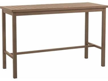 Summer Classics Club Aluminum 67.125''W x 28''D Rectangular Bar Table SUM3327