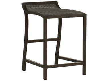 Summer Classics Villa Wicker Slate Grey Counter Stool SUM336731