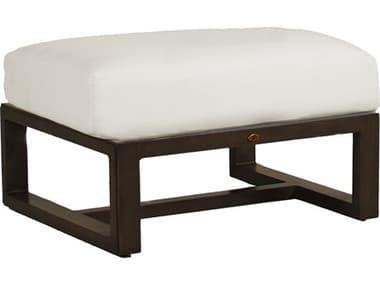 Summer Classics Avondale Aluminum Ottoman with Cushion SUM3402