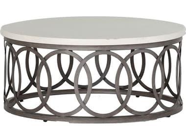 Summer Classics Ella Aluminum 36'' Wide Round Coffee Table SUM4413