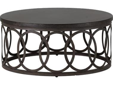 Summer Classics Ella Aluminum 42'' Wide Round Coffee Table SUM4414