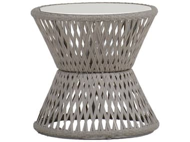 Summer Classics Echo Faux Stone 21'' Wide Round End Table SUM6870