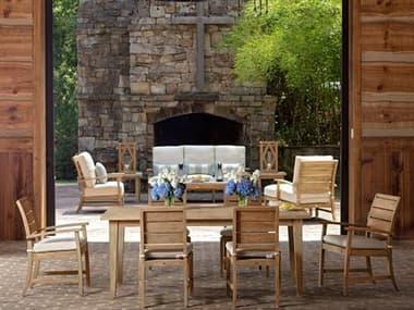 Summer Classics Charleston Teak Natural Dining Set SUMCHRLSTNEDINSET
