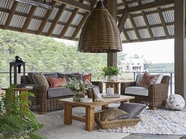 Summer Classics Montauk Wicker Lounge Set SUMMNTAUKLNGSET1
