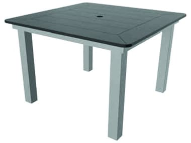 Suncoast Marine Grade Polymer Aluminum 42'' Wide Square Dining Table Top SUMS42