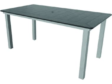 Suncoast Marine Grade Polymer Aluminum 76''W x 42''D Rectangular Dining Table Top SUMX4276
