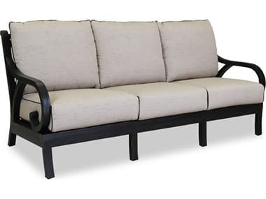 Sunset West Quick Ship Monterey Sofa in Frequency Sand with Canvas Walnut Welt SW30012356094