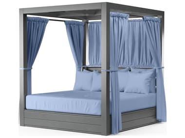Sunset West Redondo Aluminum Cushion Lounge Bed SW3801DBNONSTOCK