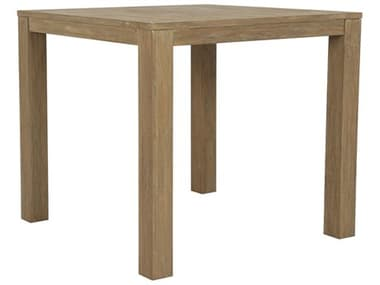 Sunset West Teak - Quick Ship 40'' Wide Square Counter Table SW5501PT