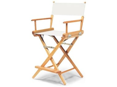 Telescope Casual Director Chairs Wood Sling Counter Height Stool TC15103REC