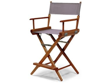 Telescope Casual Director Chairs Wood Sling Counter Height Stool TC15107REC