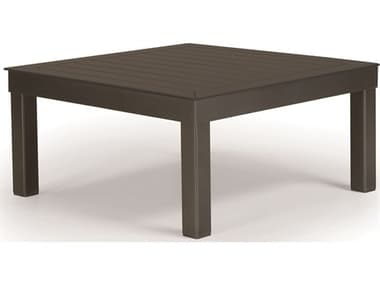 Telescope Casual Ashbee Sectional Cast Aluminum 28'' Wide Square MGP Top Coffee Table TC1A90