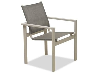 Telescope Casual Tribeca Sling Aluminum Stackable Dining Arm Chair TC1T70