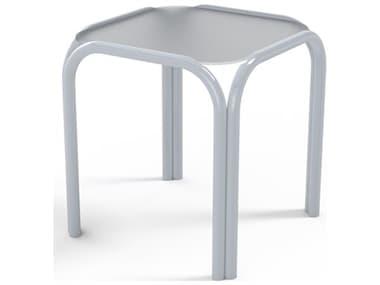 Telescope Casual Obscure Acrylic Top 17'' Wide Square End Table TC200