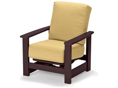 Telescope Casual Leeward MGP Deep Seat Recycled Plastic Glider Lounge Chair TC8610