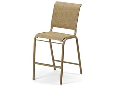 Telescope Casual Gardenella Sling Aluminum Stackable Counter Height Chair TC8L80