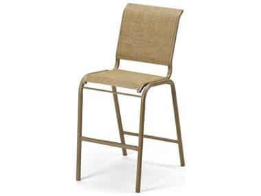 Telescope Casual Gardenella Sling Aluminum Stackable Bar Height Chair TC8L90