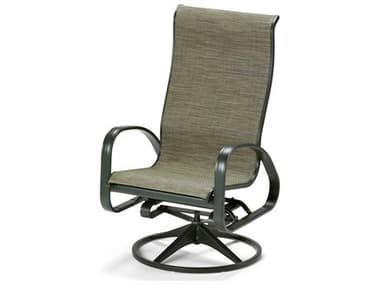 Telescope Casual Primera Sling Aluminum Supreme Adjustable Swivel Rocker Dining Arm Chair TC9040