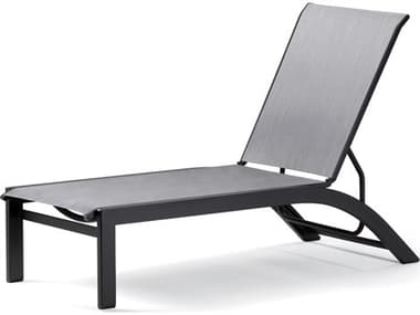 Telescope Casual Kendall Sling Aluminum Stackable Chaise Lounge TC9100