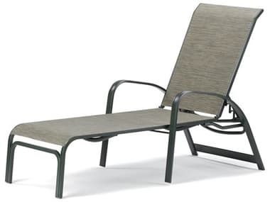 Telescope Casual Primera Sling Aluminum Lay-flat Stackable Chaise Lounge TC9620