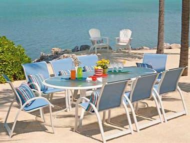 Telescope Casual Aruba Ii Sling Aluminum Dining Set TCARBA2DIN1