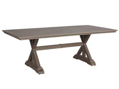 Teva Aruba Aluminum 42W x 84D Dining Table TE101DT