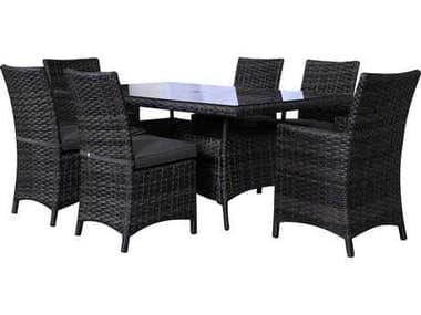 Teva Bora Bora Wicker Rattan Dining Set TE103DS