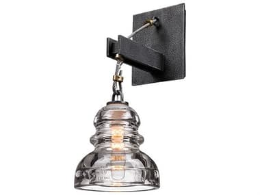 Troy Lighting Menlo Park Old Silver 6'' Wide Wall Sconce TLB3131