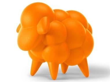 Tonik Dottie Polyethylene Sheep Mascot/Ottoman TOKDTM