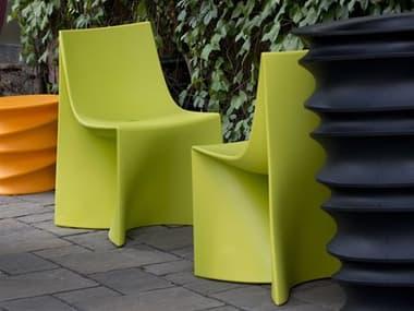 Tonik Jux Seating Polyethylene Dining Chair Set TOKJUXDINSET1