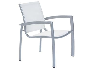 Tropitone South Beach Relaxed Sling Aluminum Dining Arm Chair TP240524
