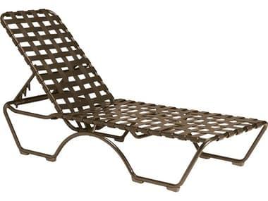 Tropitone Kahana Cross Strap Aluminum Stackable Chaise Lounge TP260532