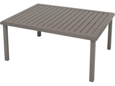 Tropitone Amici Aluminum 54''W x 42''D Rectangular KD Chat Table TP69186724