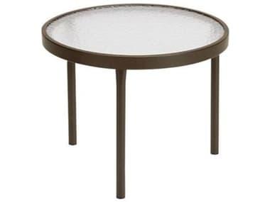 Tropitone Acrylic Cast Aluminum 20'' Wide Round Tea Table TP8082A