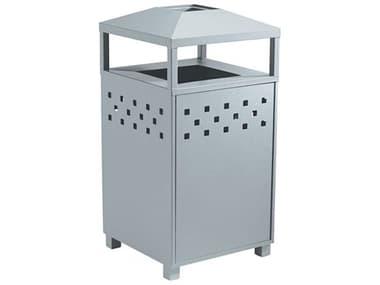 Tropitone Boulevard Aluminum Waste Receptacle with Ash Urn TP990589B