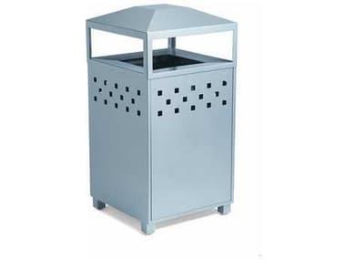 Tropitone Boulevard Aluminum Waste Receptacle TP990589BNA