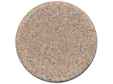 Tropitone Stoneworks Faux Granite Stone 48 Round Solid Table Top with Umbrella Hole TPFG48RU