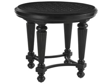 Tommy Bahama Outdoor Kingstown Sedona Cast Aluminum 27'' Round End Table TR3190953