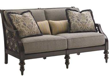 Tommy Bahama Outdoor Black Sands Cast Aluminum Cushion Loveseat TR323522